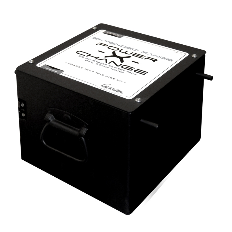 Overland Extended Range Power-X-Change Battery Pack - 24V, 22A