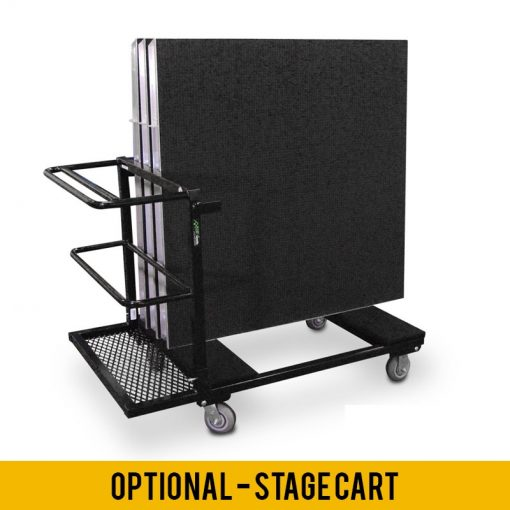 AXIS Aluminum Stage Package - 12' x 16' Platform