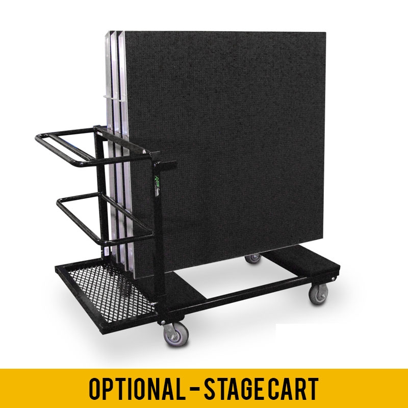 AXIS Aluminum Stage Package - 16' x 20' Platform