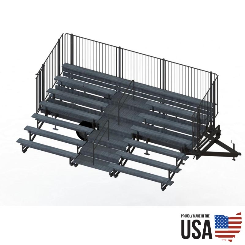 Fold N Tow 72 Portable Bleachers