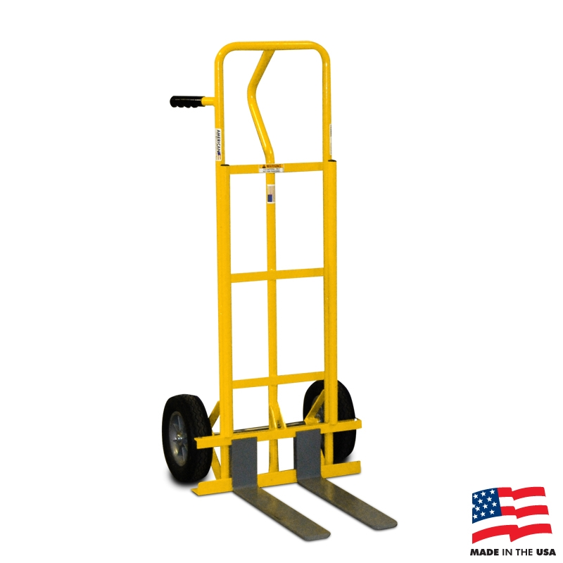 Hand truck with 20 adjustable forks for Motorized hand truck rental