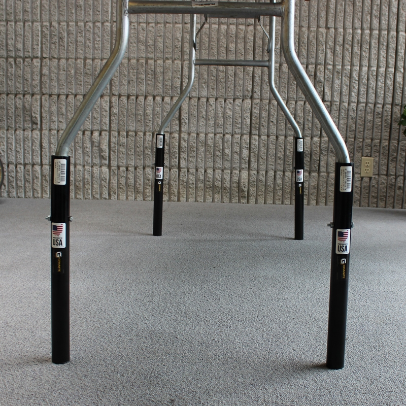 Steel Table Leg Height Extenders 12 Quot For Tables