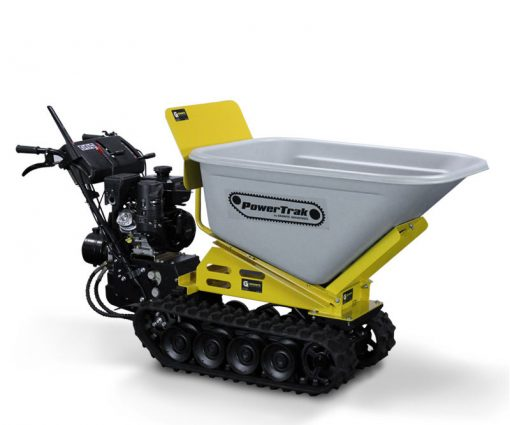 Granite PowerTrak 1100 Gas Powered Wheelbarrow - 10 Cu. Ft. Hopper
