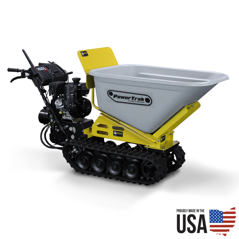 Granite Powertrak 1100 Gas Powered Wheelbarrow