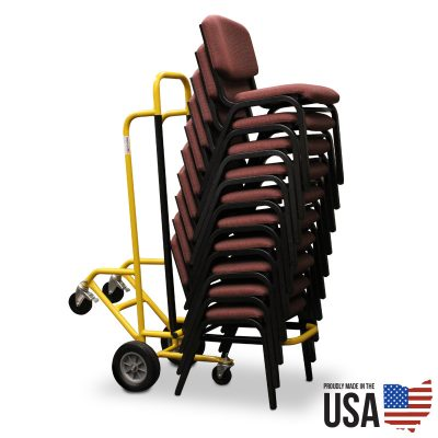 American Cart Stacking Chair Cart