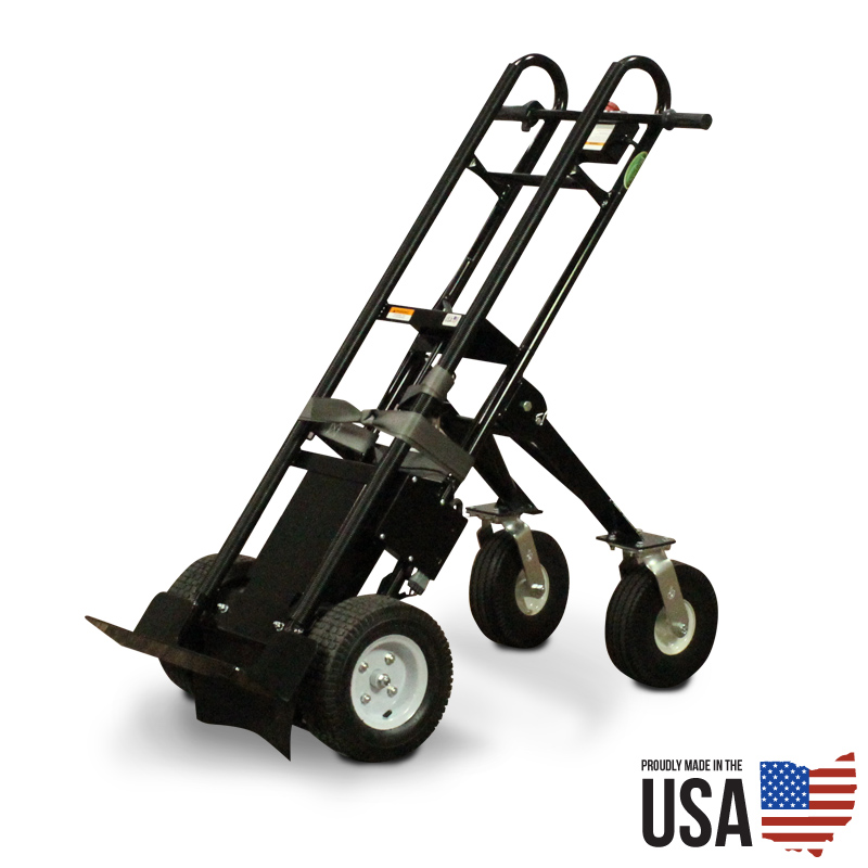 electric powered appliance hand truck