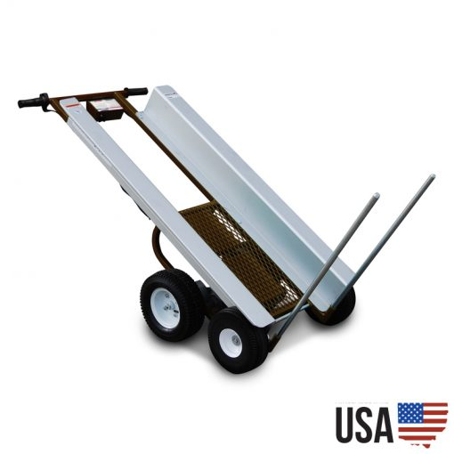 Overland Electric Powered Mantis-X Hand Truck – With Turf Tires