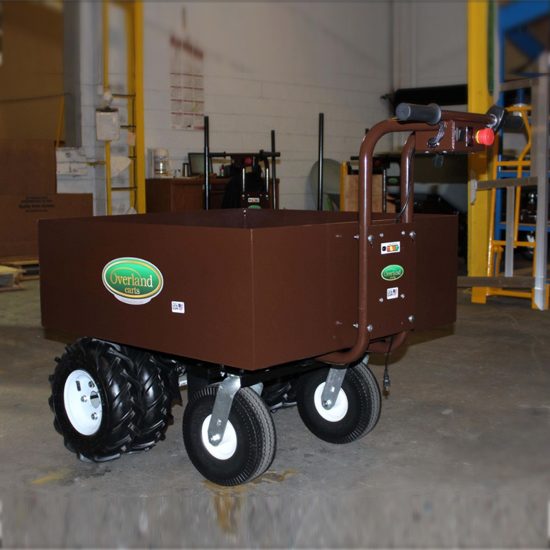 Overland Electric Power Wagon Metal Hopper
