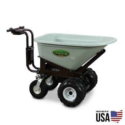 Overland Electric Powered Wheelbarrow – 7 Cu. Ft. Hopper