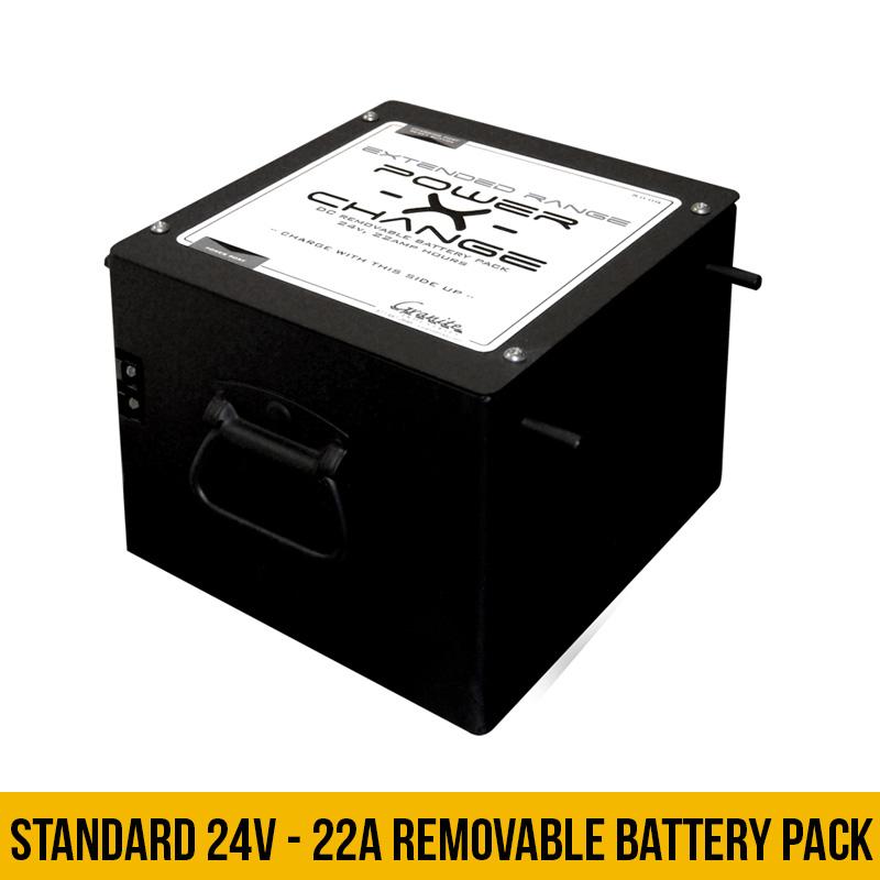 Overland Cart Power-X-Change Extended Batter Pack