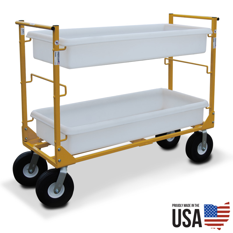 American Cart Utility Cart With No Flat Tires