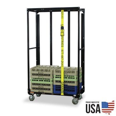 Glass/Dish Tray Storage Carts